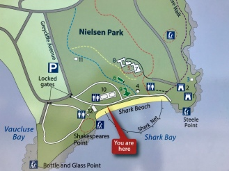 Nielsen Park map